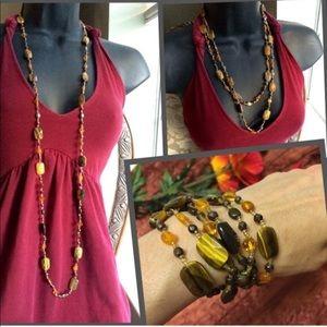 Jewelry - Tigers Eye strand necklace